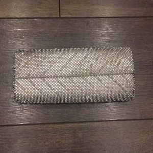 Silver Jewel Clutch from Whiting & Davis